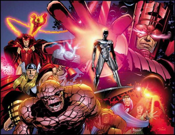 Heralds of Galactus Marvel Superheroes