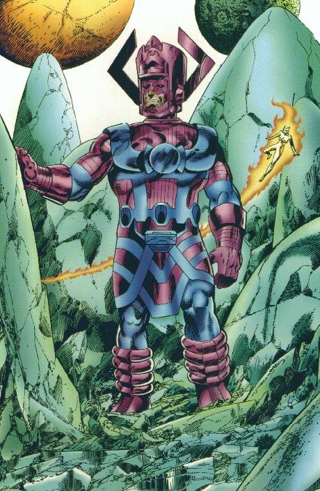 Classic Doomsday Vs Galactus Battles Comic Vine